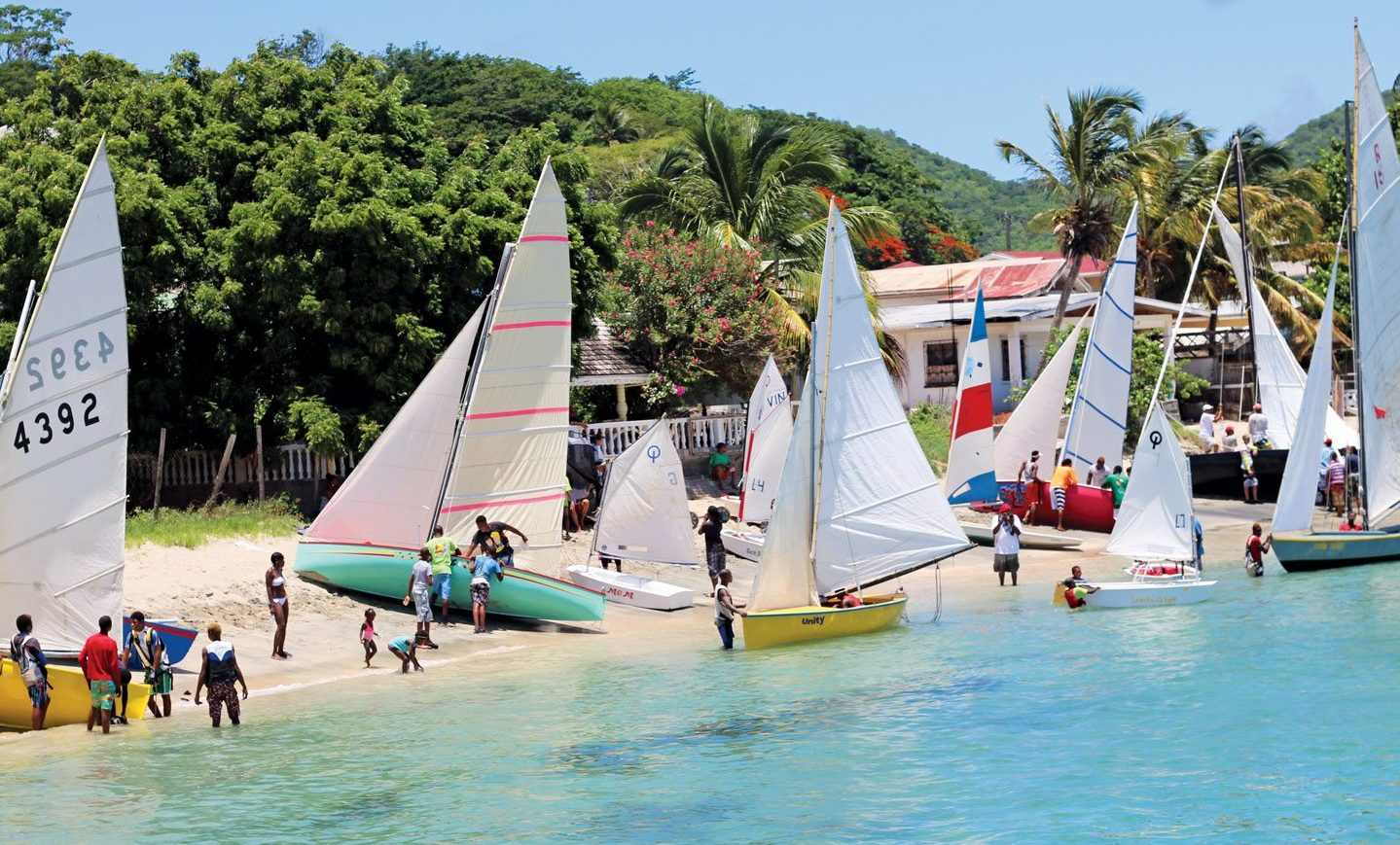 Beach action. File photo courtesy of Grenada Tourism Authority