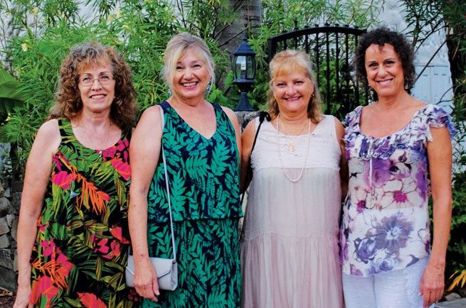 The Team at Select Yachts (from left): Marilyn Eckel - Sailing Fleet Charter Manager; Dayle Reimer​ - Charter Broker; Ann E McHorney - Charter Broker and CEO; Lisa Larsen - Content Writer and Promotions