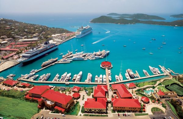 Yacht Haven Grande – home of the USVI Charter Yacht Show. Photo courtesy of Yacht Haven Grand
