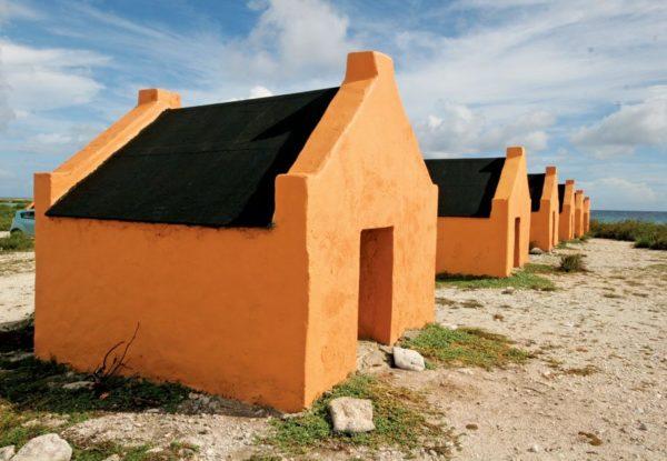 Bonaire's slave huts. Photo: OceanMedia