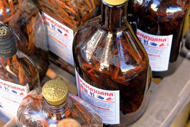 Mamajuana … an aphrodisiac. Photo Nick Argires / Dominican Republic Ministry of Tourism