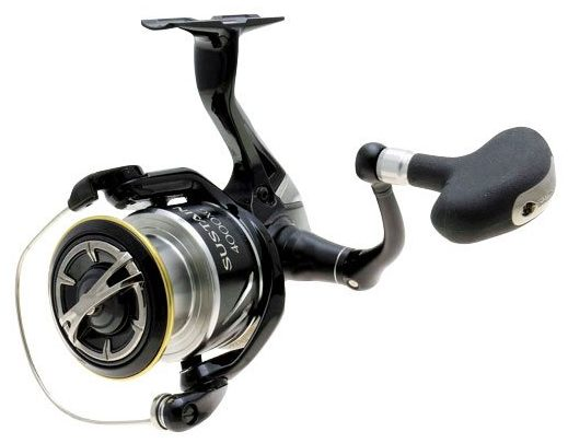The Shimano Sustain 4000XG Spinning Reel. Photo courtesy of Shimano