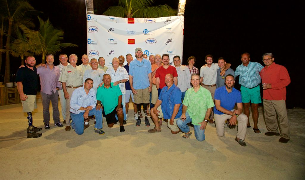 War Heroes will compete with world-class anglers at the 6th Annual Cheeca Lodge All American Backcountry Fishing Tournament, November 16-18, 2017 at Cheeca Lodge & Spa, Islamorada, FL.