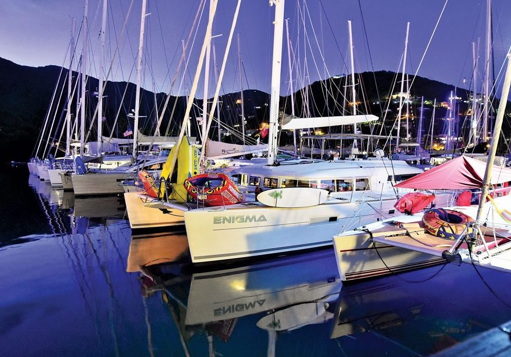 Charter Yacht Show, BVI. Photo: Epic Yacht Charters