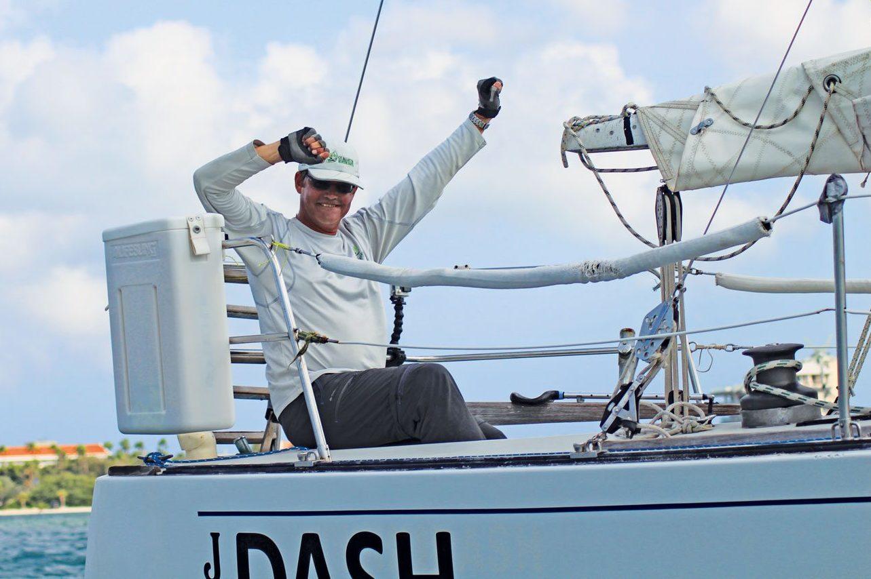 Unbeatable … Eric Mijts' J/35 Dash, Racing Class winner