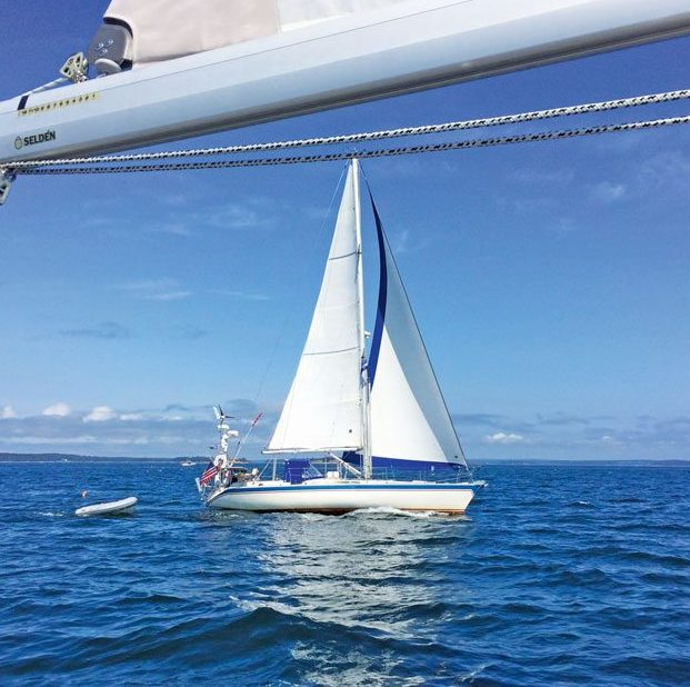 North Atlantic Rally for Cruisers – Avocet in Blue Hill Bay