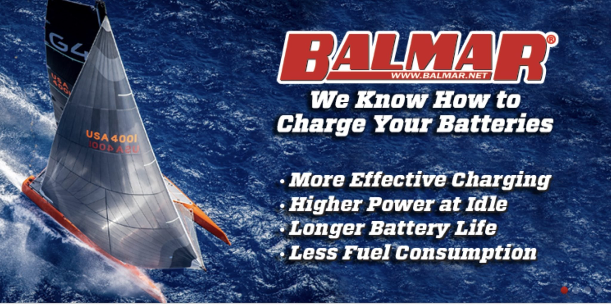 Balmar Announces Regulator Support for Lithium Batteries