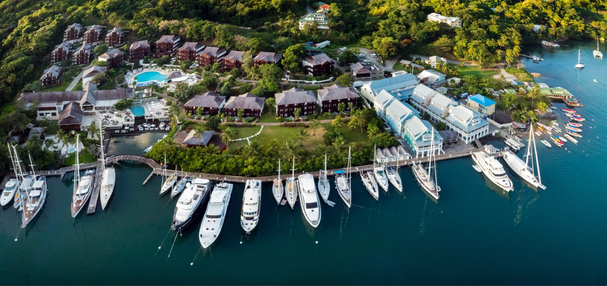Capella Marina at Marigot Bay in Saint Lucia