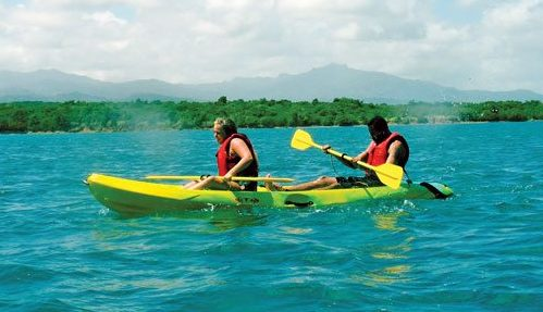 Kayaking Bio Bay – Puerto Rico. Photo © Puerto Rico Tourism Company UK