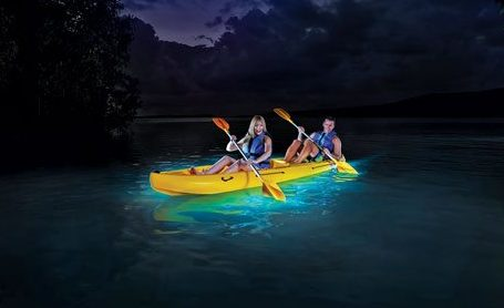 It's magic – Kayaking on Puerto Rico's Bio Bay. Photo courtesy of Puerto Rico Tourist Board