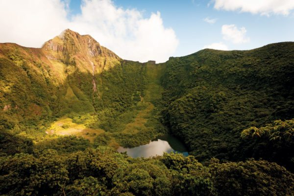 A long hike – Mount Liamuiga, St. Kitts. Photo courtesy of St. Kitts Tourism Authority