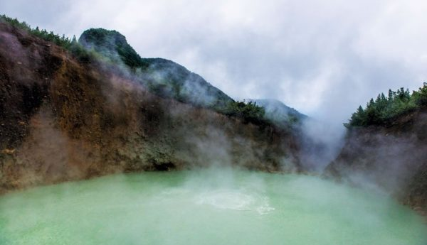 Boiling Lake in Dominica. Photo: Göran Höglund