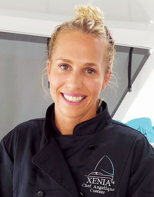 Winning smile for a winning dish - Angelique Coetzer of Xenia 74