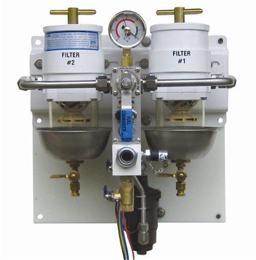 The KTI FilterBOSS COMMANDER 60GPH-vertical