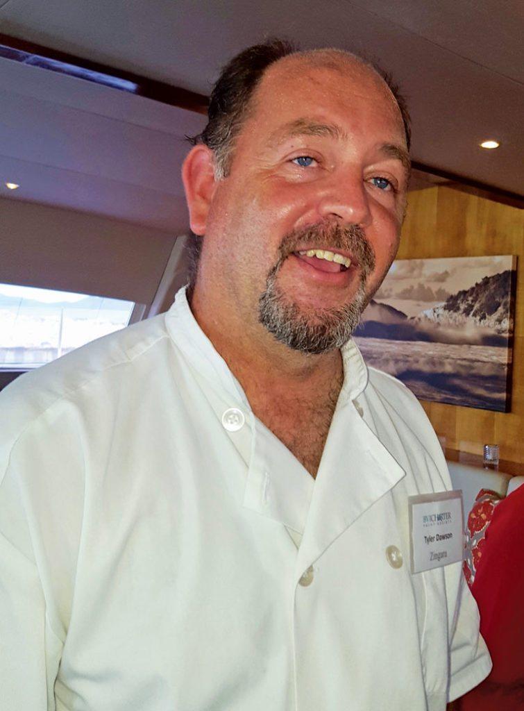 Zingara's winning Chef Tyler Dawson