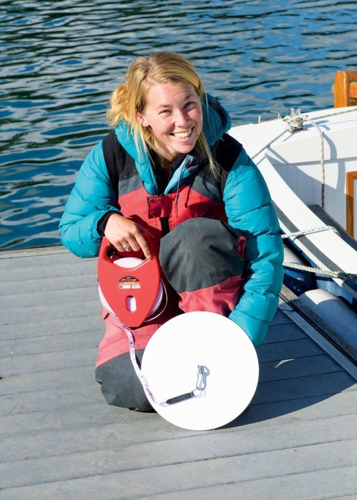 Project Ambassador and yachtswoman Susie Goodall