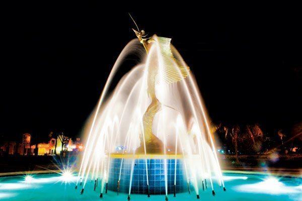 Sailfish Fountain in downtown Stuart. Credit: Jorge Molina