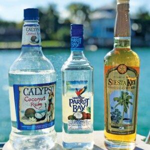 Calypso vs. Captain Morgan vs. Siesta Key