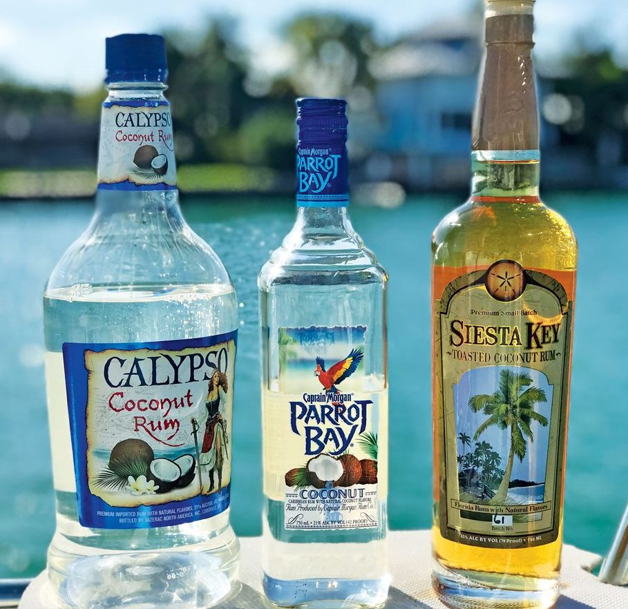 Calypso vs. Captain Morgan vs. Siesta Key