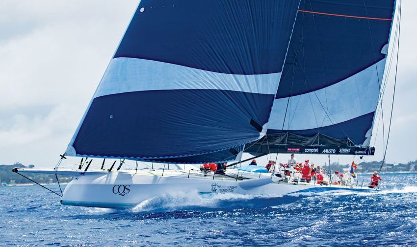CQSon her way to breaking the 100ft and under record and Absolute Monohull record. Photos by Peter Marshall/BSW