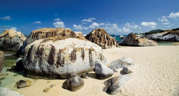 The Baths, Virgin Gorda, BVI. Photo courtesy of British Virgin Islands Tourist Board