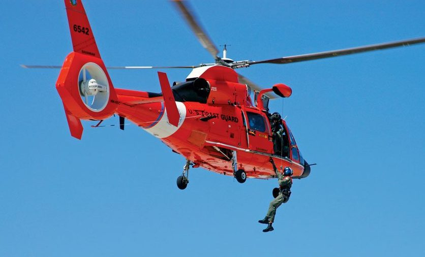 An EPIRB is your link to the rescue services. Photo: Master Sergeant Rick Cowan, United States Coast Guard (USCG)