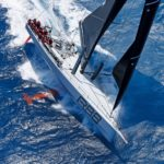 Rambler 88 storms to victory in the 2018 RORC Caribbean 600. Photo: RORC/Tim Wright/Photoaction.com