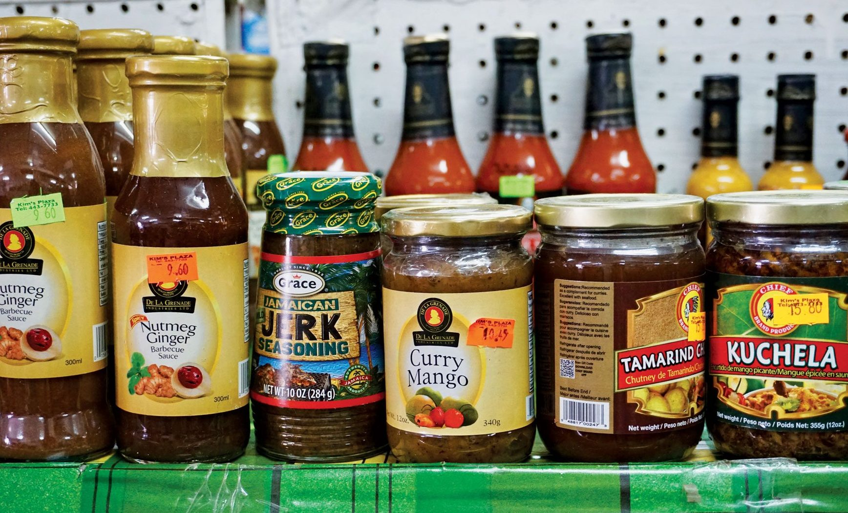 Regional specialties found only in the local stores. Photo by Jan Hein