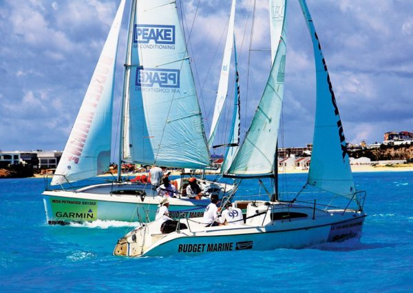 While the big boys raced on the open sea, the new Island Time class sailed 12 inshore races with team Micron 99 clinching a decisive win. The third and fourth-placed boats were crewed by youngsters from St. Maarten's Kidz at Sea foundation, which is helping to train and inspire the next generation of Caribbean sailors.