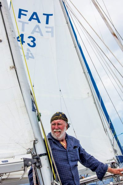 Fatty is always tweaking his sails …