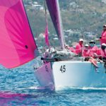 In the pink! Touch2Play, CSA Spinnaker 2 class winner