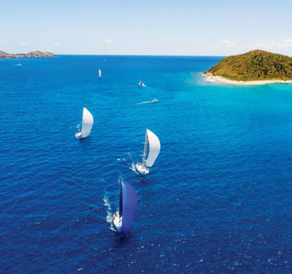 The BVI Spring Regatta brings a whole new meaning to The Blues