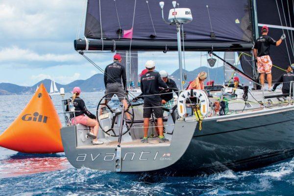 Jeremi Jablonski Hanse 43 Avanti sailed to victory in CSA Jib & Main class