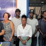 The team at Horizon Yachts, Grenada
