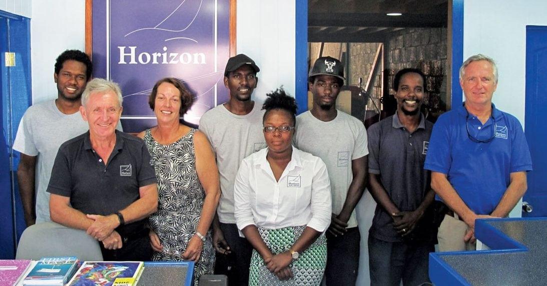 The team at Horizon Yachts, Grenada