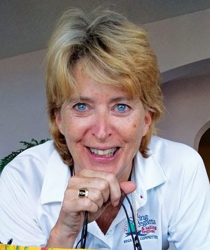 Judy Petz, the Tortola-based director of the BVI Spring Regatta