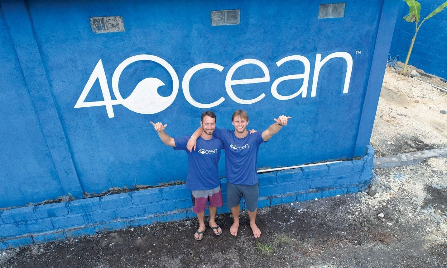 Andrew Cooper and Alex Schulze, co-founders of 4Ocean.com. Courtesy: 4Ocean.com