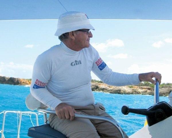 St. Maarten's Robbie Ferron, general manager of Budget Marine