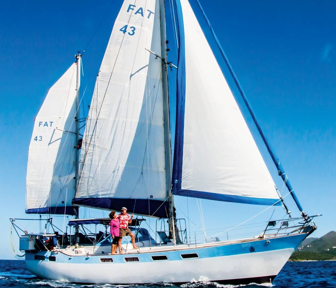 Fatty loves his ketch rig, especially in a blow. Exploring sailing rig configurations