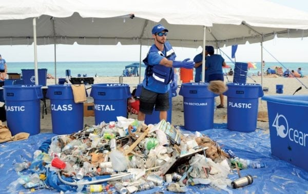 Beach Clean Up. Courtesy: 4Ocean.com