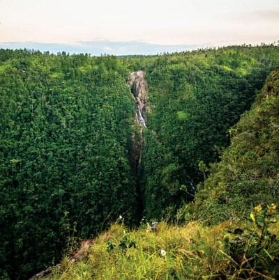 King Vulture Falls, Belize. Credit: Belize Tourism Board