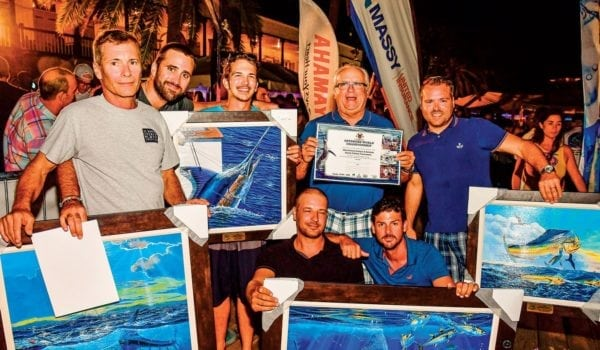 Time to celebrate – Top Boat in the Marlin Division, Douglas