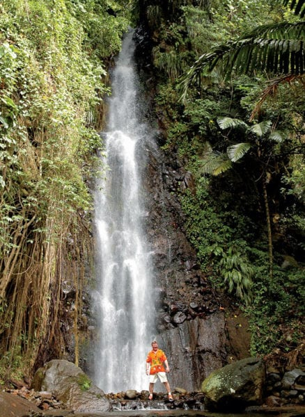 Dark View Falls, St. Vincent. Photo: St. Vincent & the Grenadines Tourism Authority