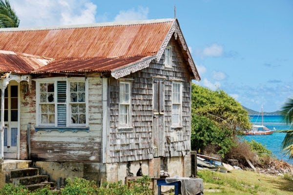 Hope's house, featured in the film, Vanishing Sail. Photo by Jan Hein