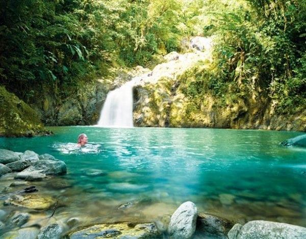 Argyle Waterfalls, Tobago. Photo: Tobago Division of Tourism