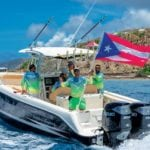 Puerto Rican Pride at the 2018 BVI Poker Run. Photo: Javier Lopez, JL Consulting