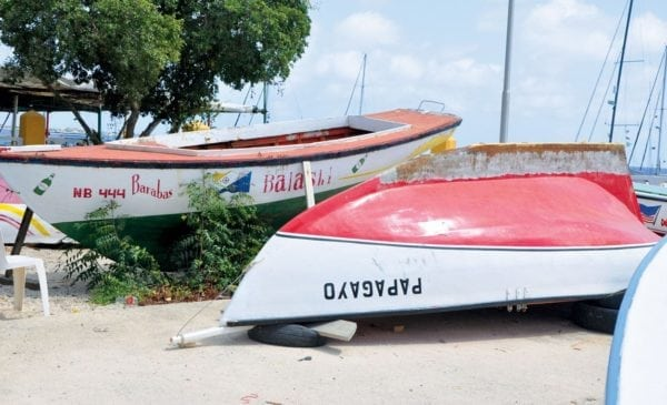 Many of Bonaire's historic sailing fishing boats have been restored in preparation for the 41st Bonaire Regatta in October. Photo by Els Kroon