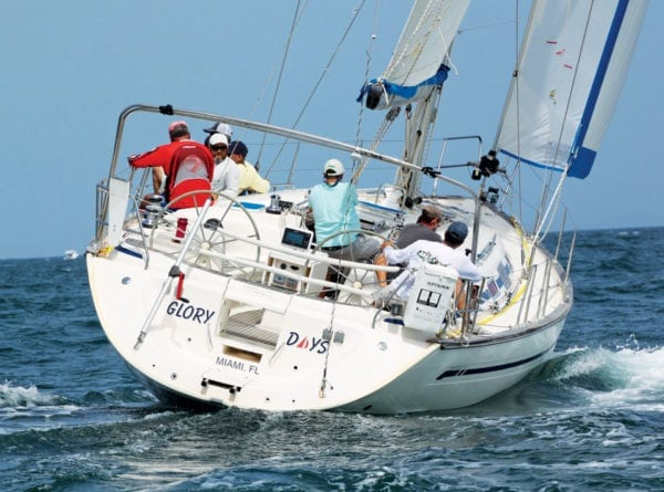 Carlos Selles's Glory Days sailed to victory in PHRF class. Photos by Carlos Lee