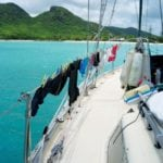 Live aboard laundry no longer needs to be a laborious task! Photo by Rosie Burr