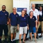 They kept it running – Members of staff at Budget Marine, St. Thomas